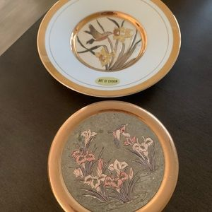 Hummingbird Plate & Box